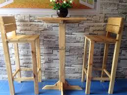 bàn ghế cafe gỗ thông
