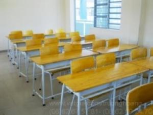Bàn học gỗ ép giá rẻ hà nội-bàn học sinh-bàn học sinh có giá sách