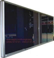 Bảng ghim khung nhôm kính ,kích thước 1200x3400mm