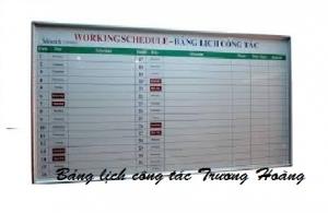Giá bảng lịch công tác - bảng lịch văn phòng kích thước 1200 x 1600 mm