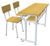 Bàn ghế học sinh 2 chỗ ngồi 1