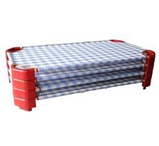 Giường ngủ,giường lưới cho bé mầm non mẫu giáo in hình chuột Micke