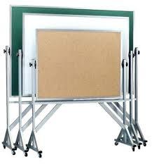 bảng ghim gỗ bần có khung chân di động
