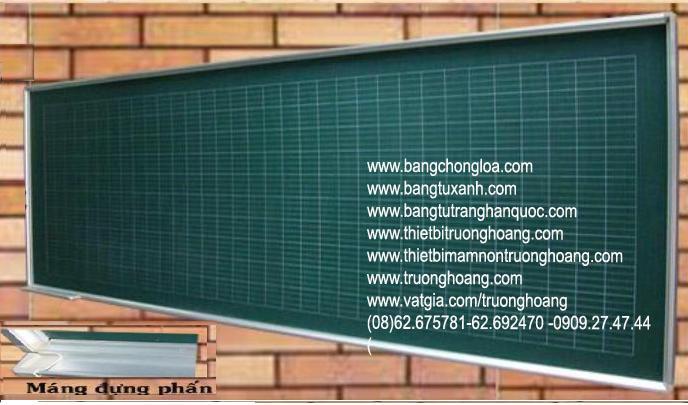 bảng treo tường học sinh viết phấn