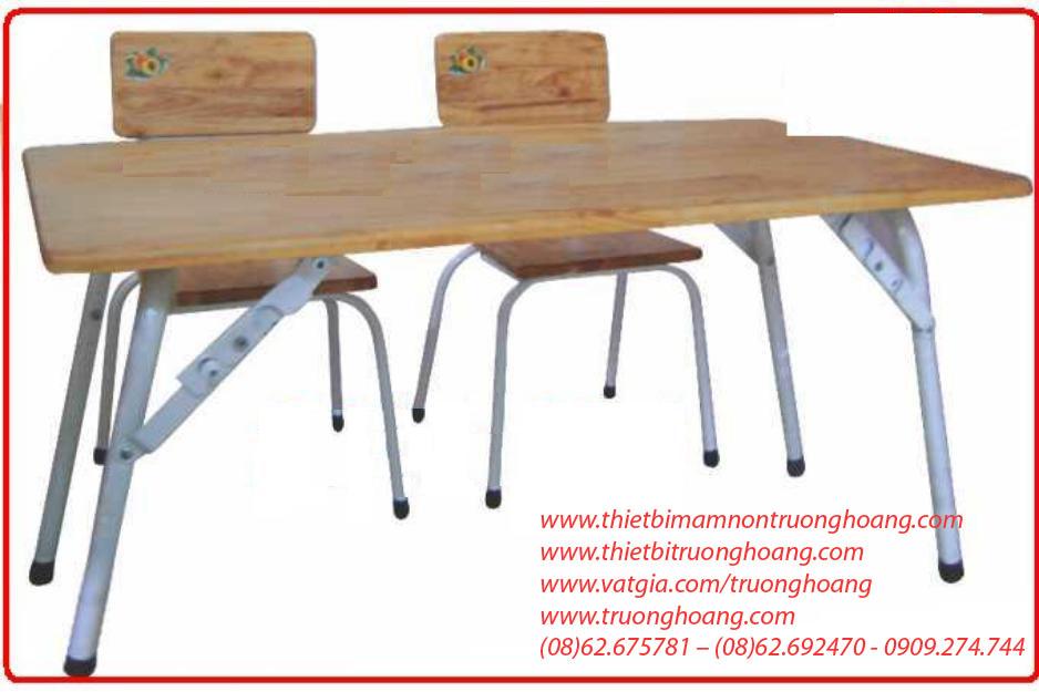 bàn ghế học sinh mẫu giáo