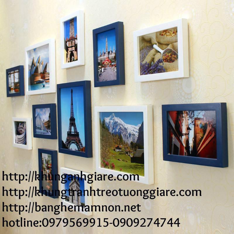 khung ảnh gỗ giá rẻ kích thước 10x15cm